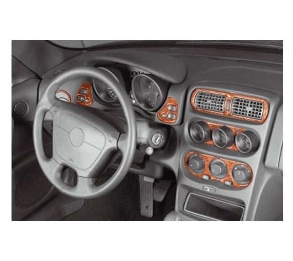 3D Cockpit Dekor für Alfa Romeo GTV Spider  05/1995 18 Teile